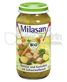 Produktabbildung: Milasan Gemüse und Kartoffeln mit Schweinefleisch 250 g
