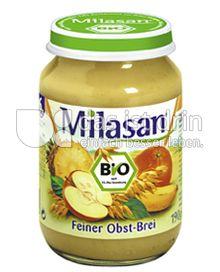Produktabbildung: Milasan Feiner Obst-Brei 190 g