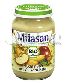 Produktabbildung: Milasan Früchte-Brei mit Vollkorn-Hafer 190 g