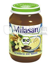 Produktabbildung: Milasan Grießbrei mit Vanille 190 g