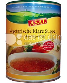 Produktabbildung: Asal Vegetarische Klare Suppe 280 g