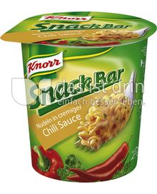 Produktabbildung: Knorr Snack Bar Nudeln in cremiger Chili-Sauce 70 g