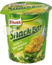 Produktabbildung: Knorr Nudeln in Käse-Kräuter Sauce 65 g