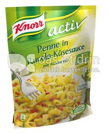 Produktabbildung: Knorr activ Penne in Rucola-Käsesauce mit Mozzarella 159 g