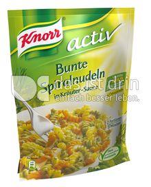 Produktabbildung: Knorr activ Bunte Spiralnudeln in Kräuter-Sauce 153 g