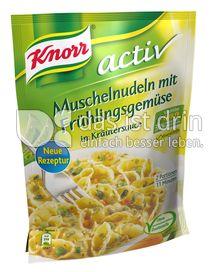 Produktabbildung: Knorr activ Muschelnudeln mit Frühlingsgemüse in Kräutersauce 157 g