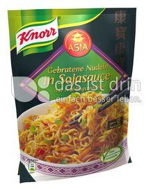 Produktabbildung: Knorr Asia Gebratene Nudeln in Sojasauce mit Frühlingszwiebeln 123 g