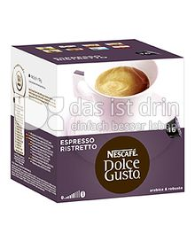 Produktabbildung: Nescafé Dolce Gusto Espresso Ristretto 16 St.