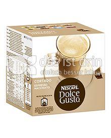 Produktabbildung: Nescafé Dolce Gusto Cortado Espresso Macchiato 16 St.