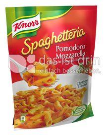Produktabbildung: Knorr Spaghetteria Pomodoro Mozzarella Pasta in Tomaten-Käse-Sauce 163 g