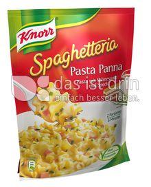 Produktabbildung: Knorr Spaghetteria Pasta Panna mit Sahnesauce und Speck 153 g