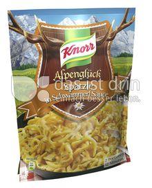 Produktabbildung: Knorr Alpenglück Spätzle in Schwammerl Sauce