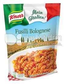 Produktabbildung: Knorr Mein Italien! Fusilli Bolognese