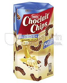 Produktabbildung: Nestlé Choclait Chips Banana Choc 135 g