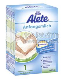 Produktabbildung: Nestlé Alete Anfangsmilch 1 600 g