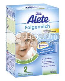 Produktabbildung: Nestlé Alete Folgemilch 2 Vanille 600 g