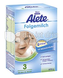Produktabbildung: Nestlé Alete Folgemilch 3 600 g