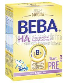 Produktabbildung: Nestlé BEBA HA Hypoallergene Anfangsnahrung Start PRE 600 g