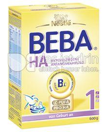 Produktabbildung: Nestlé BEBA HA Hypoallergene Anfangsnahrung 1 600 g