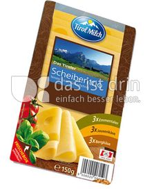 Produktabbildung: Tirol Milch Das Tiroler Scheibentrio 150 g