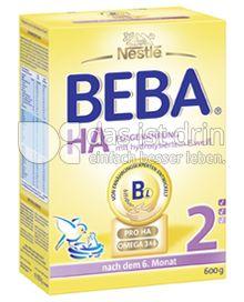 Produktabbildung: Nestlé BEBA HA Hypoallergene Folgenahrung 2 600 g