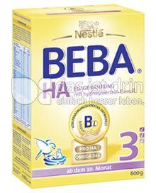 Produktabbildung: Nestlé BEBA HA Hypoallergene Folgenahrung 3 600 g