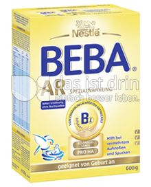 Produktabbildung: Nestlé BEBA AR Spezialnahrung 600 g