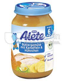 Produktabbildung: Nestlé Alete Buttergemüse mit Kartoffeln & Hühnchen 190 g