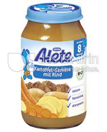 Produktabbildung: Nestlé Alete Kartoffel-Gemüse mit Rind 220 g