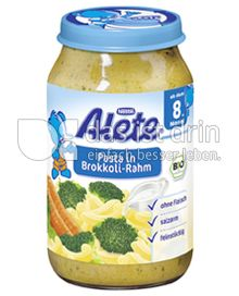 Produktabbildung: Nestlé Alete Pasta in Brokkoli-Rahm 220 g