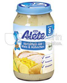 Produktabbildung: Nestlé Alete Kartoffeln mit Mais & Hühnchen 220 g