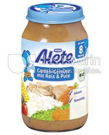 Produktabbildung: Nestlé Alete Garten-Gemüse mit Reis & Pute 220 g