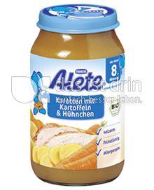 Produktabbildung: Nestlé Alete Karotten mit Kartoffeln & Hühnchen 220 g
