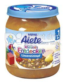 Produktabbildung: Nestlé Alete Kleine Entdecker Linseneintopf 250 g