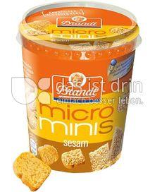 Produktabbildung: Brandt micro minis Sesam 80 g