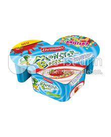 Produktabbildung: Monster Backe Knister Erdbeere 135 g