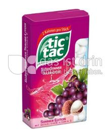 Produktabbildung: Tic Tac Süßer Sommer Traube-Litchi 100 St.