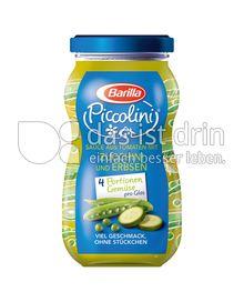 Produktabbildung: Barilla Piccolini Sauce aus Tomaten mit Zucchini und Erbsen 300 g