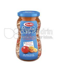 Produktabbildung: Barilla Piccolini Sauce mit Kirschtomaten und Karotten 300 g