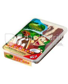 Produktabbildung: Dschungel Brotbelag Kokosscheiben Kokos & Kakao 250 g