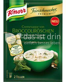 Produktabbildung: Knorr Feinschmecker Premium ***** Cremesuppe von Broccoliröschen 0,5 l