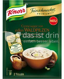 Produktabbildung: Knorr Feinschmecker Premium ***** Cremesuppe von edlen Waldpilzen 0,5 l
