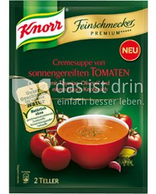 Produktabbildung: Knorr Feinschmecker Premium ***** Cremesuppe von sonnengereiften Tomaten 0,5 l