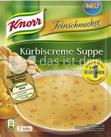 Produktabbildung: Knorr Feinschmecker Kürbiscreme Suppe 500 ml