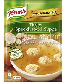 Produktabbildung: Knorr Tiroler Speckknödel Suppe 750 ml