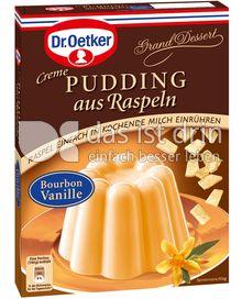 Produktabbildung: Dr. Oetker Pudding aus Raspeln Bourbon-Vanille 78 g