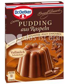 Produktabbildung: Dr. Oetker Pudding aus Raspeln Vollmilch 130 g