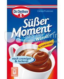 Produktabbildung: Dr. Oetker Süßer Moment Cremepudding Schokolade 59 g