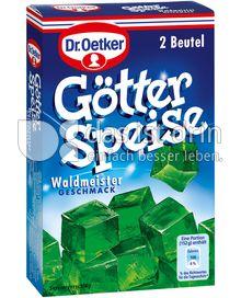 Produktabbildung: Dr. Oetker Götterspeise Waldmeister-Geschmack