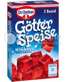 Produktabbildung: Dr. Oetker Götterspeise Himbeer-Geschmack